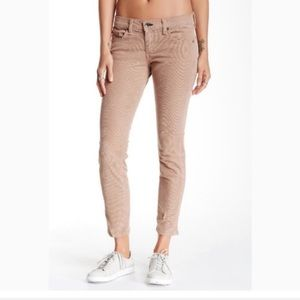 rag & bone Tomboy Skinny Tan Corduroy Pants 27